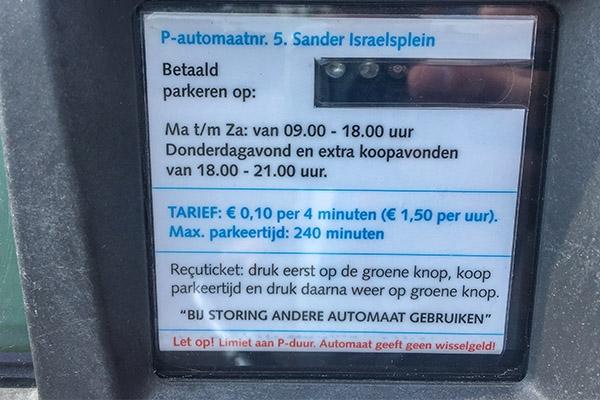Drachten voert 'betaald parkeren' in op zondag