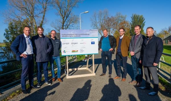 Beintemawei-Walddyk in Oudwoude officieel geopend