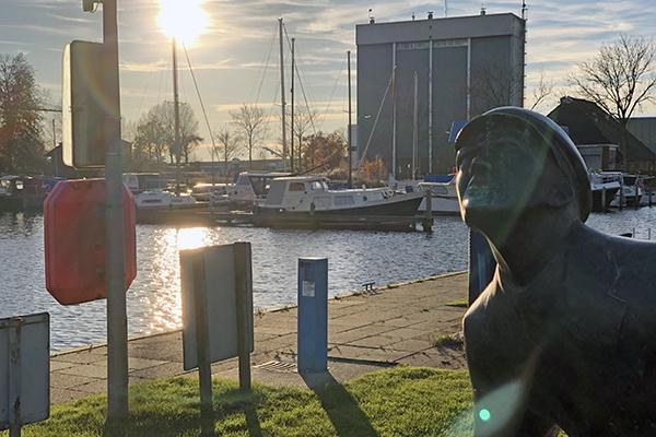 Inbreker opgepakt in jachthaven in Burgum