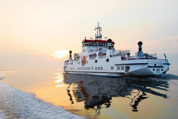 Minder afvaarten veerboot naar Schiermonnikoog
