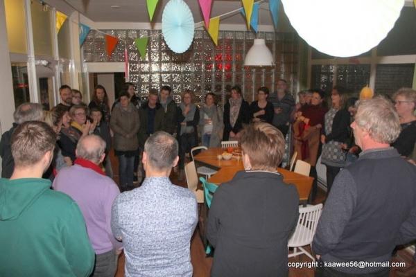 't Stationnetje in Hurdegaryp feestelijk geopend