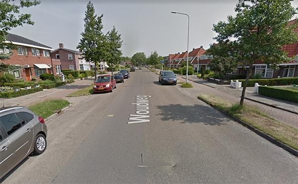 69 boetes uitgedeeld op Woudweg
