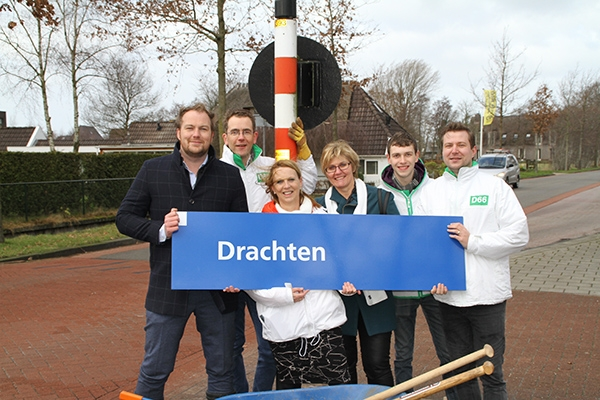 D66 wil dat Drachten snelle treinverbinding krijgt