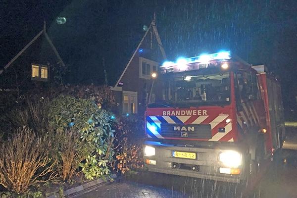 Explosie in aansteker: brandweer rukt uit