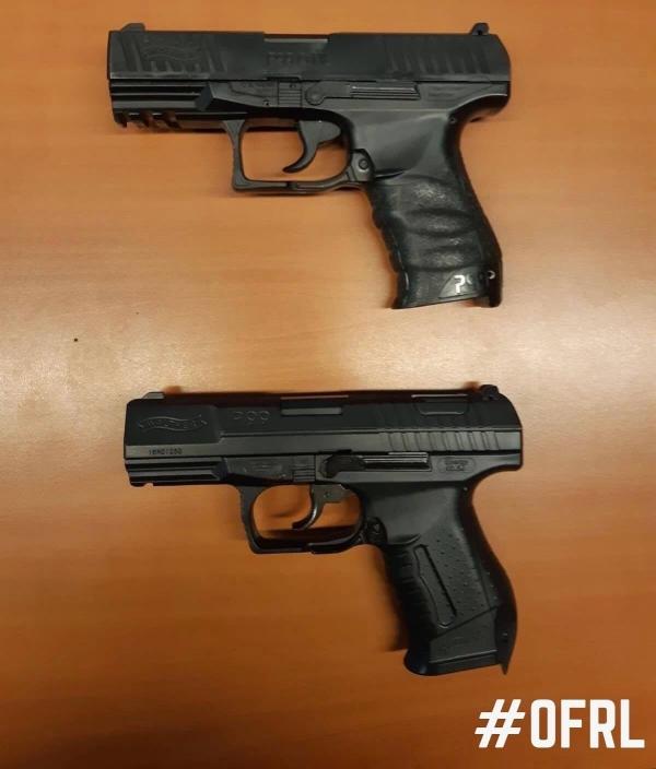 Politie pakt nepwapens af van twee kinderen