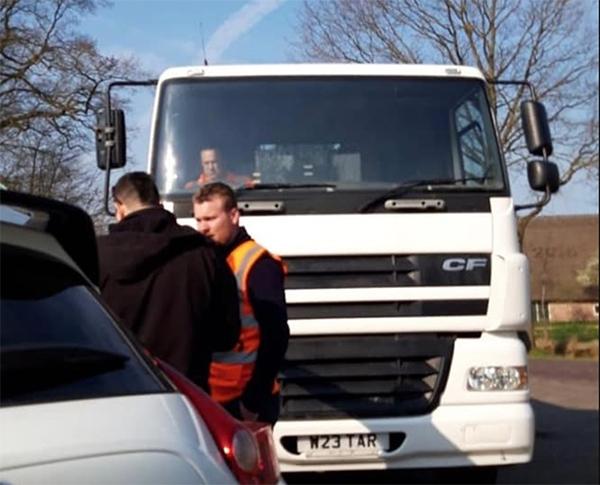 Politie waarschuwt voor 'Engelse asfalteerders'
