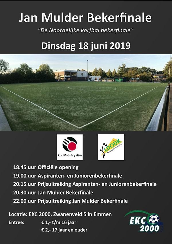 Noordelijke Bekerfinales 2019 in Emmen