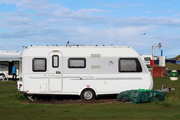 Inbraken in caravans in Drachten