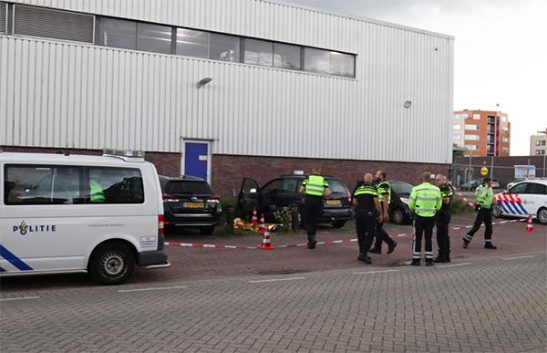 Verdachte steekpartij rijdt file in: opgepakt