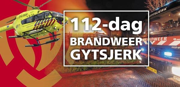 Brandweer Gytsjerk organiseert 112-dag