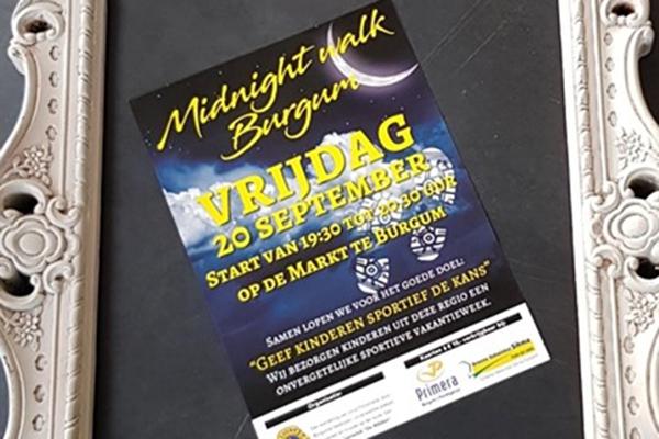 Burgum maakt zich klaar voor Midnight Walk