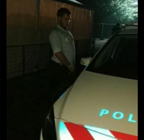 Feestganger opgepakt na pissen tegen politieauto