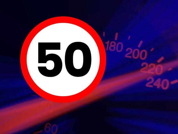 Meer dan 100 boetes bij snelheidscontrole