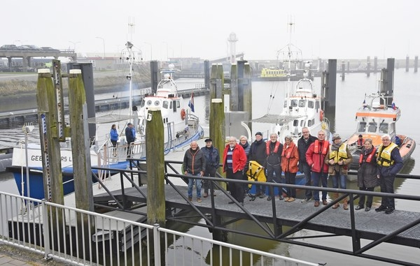 Trouwe donateursdag KNRM Lauwersoog