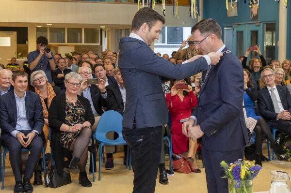 Leo Pieter Stoel geïnstalleerd als burgemeester