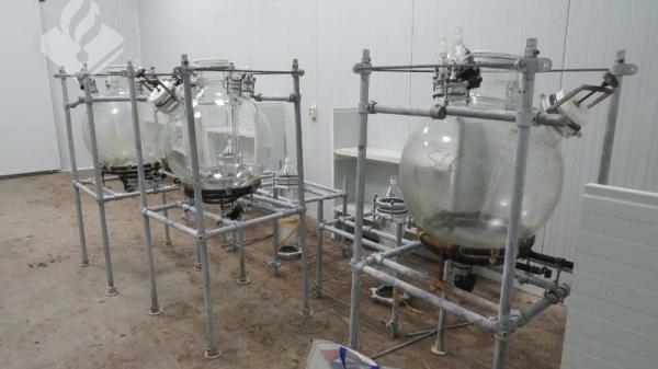 Drugslab van '4 miljoen' opgerold in Wanswert
