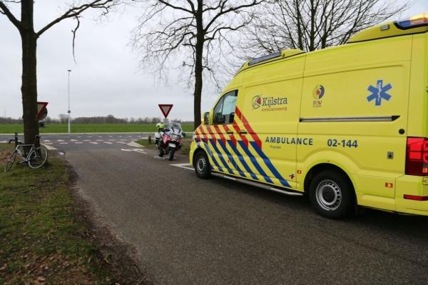 Racefietser gewond bij val in Gorredijk