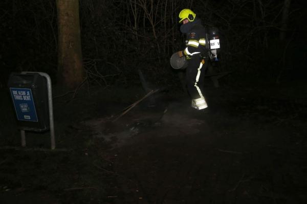 Buitenbrandje geblust in Gorredijk