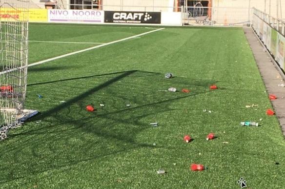 Sportveld FC Burgum blijkt hangplek voor jeugd