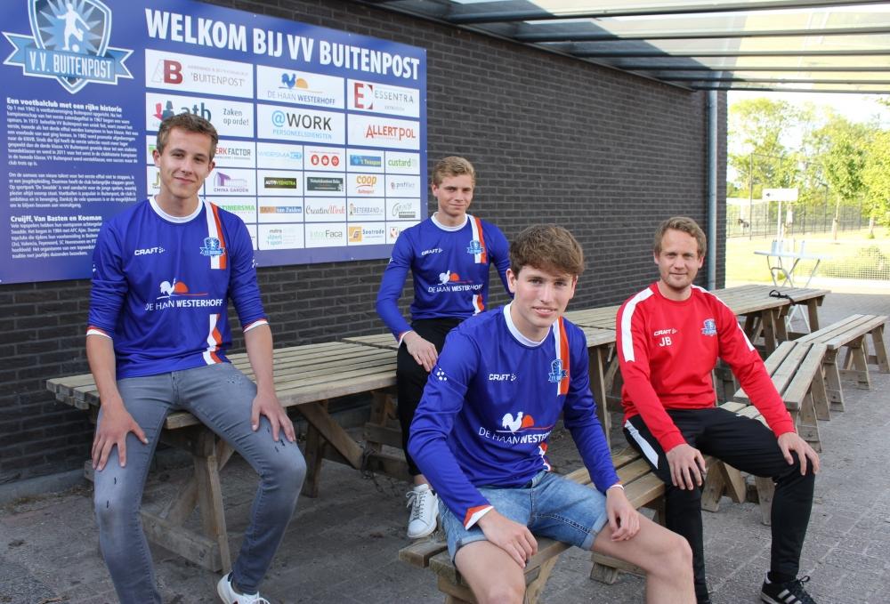 Drie Buitenpost-talenten bij eerste selectie