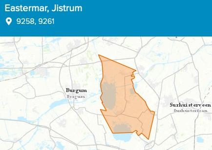 Stroomstoring in Eastermar en Jistrum