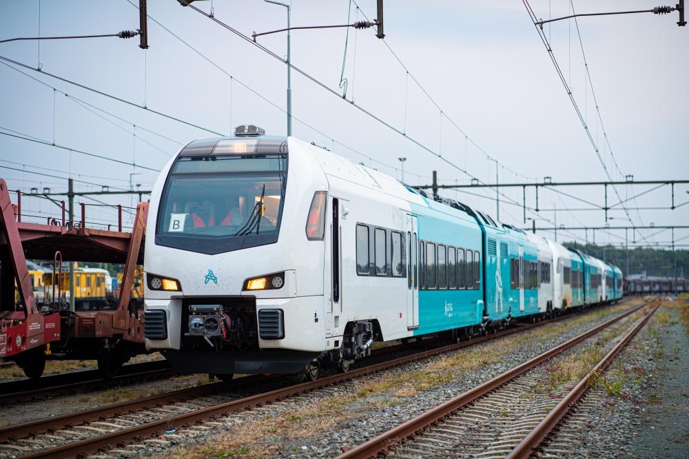 Eerste treinen gaan rijden op biodiesel