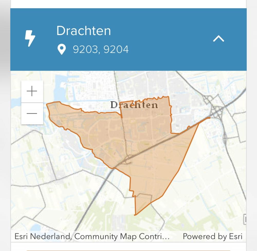 3000 huizen uur zonder stroom in Drachten