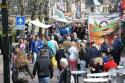 Eénrichtingsverkeer op zomermarkt in Kollum