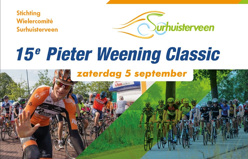 15e Pieter Weening Classic op 5 september 2020