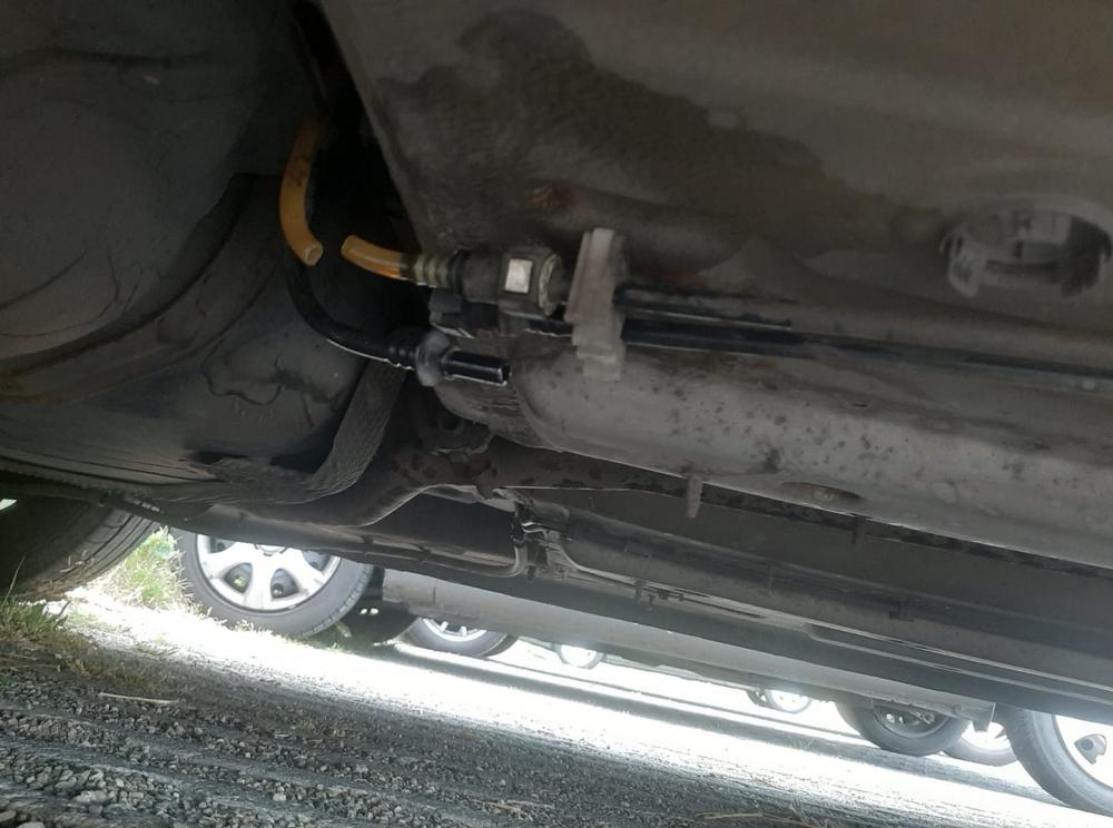 Man bestolen van brandstof op carpoolplek