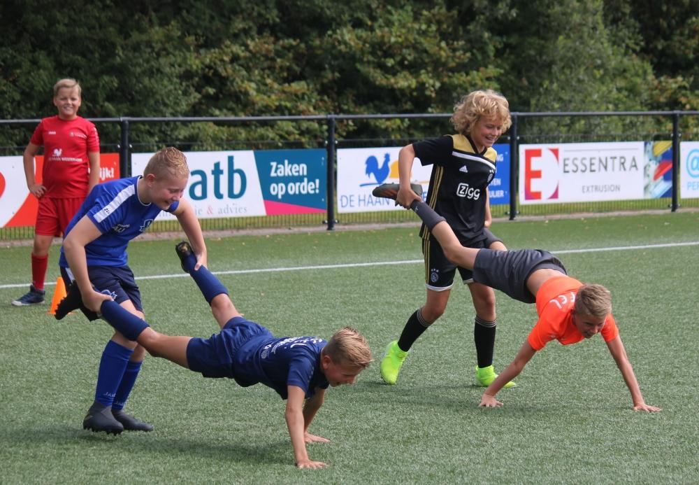 Ruim 70 kinderen bij instuif VV Buitenpost