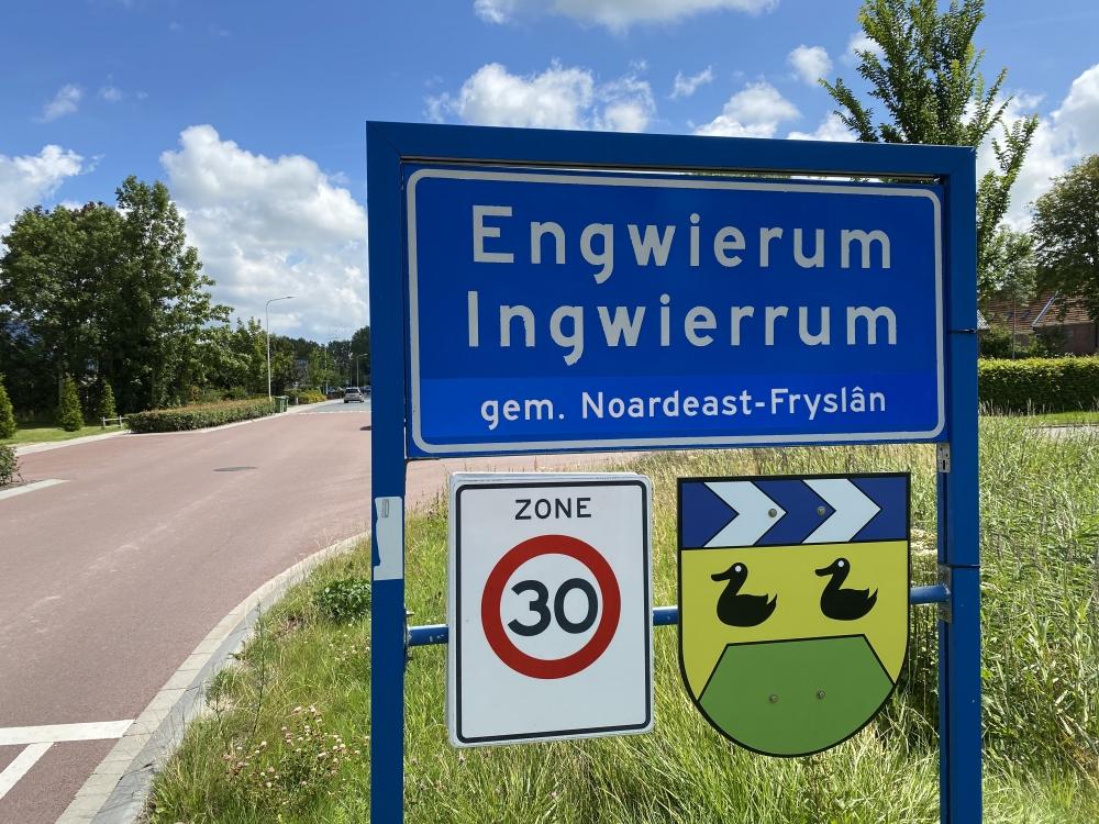 Noardeast-Fryslân krijgt Friese plaatsnamen