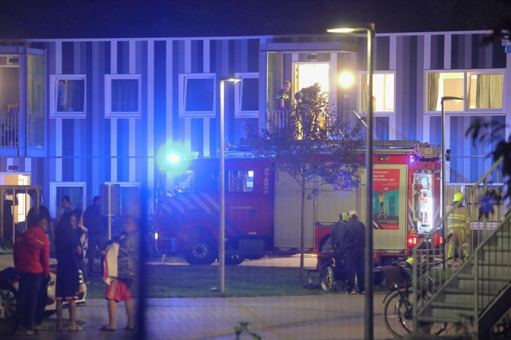 Keukenbrand in asielzoekerscentrum in Drachten