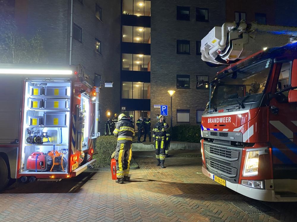 Brandweer ingezet voor pannetje op het vuur