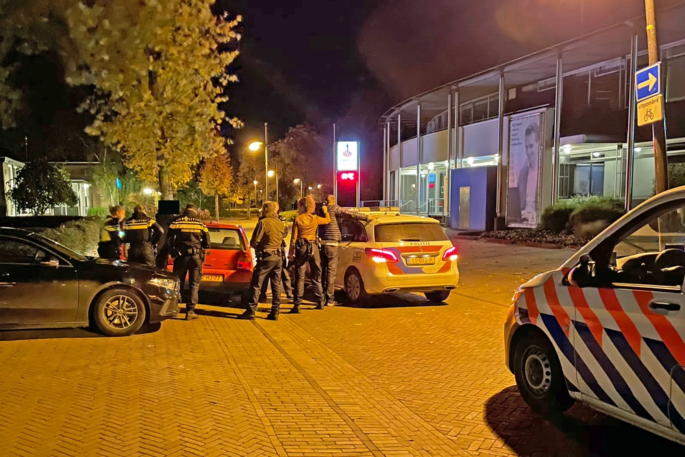 Automobilist vlucht te voet voor politie