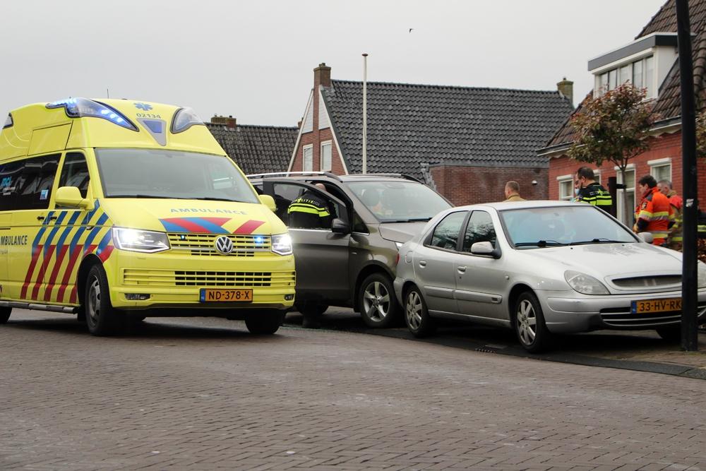 Ureterp - Gewonde bij ongeval in Ureterp.